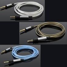 שדרוג כסף מצופה כבל אודיו עבור Sennheiser HD598 Cs SE SR HD599 HD 569 579 HD595 HD598 HD558 HD518 אוזניות