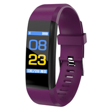 ID115 0.96 inch color screen IP67 waterproof heart rate blood pressure sleep monitoring step sports smart watch bracelet 1 3 inch sports smart watch men s ip67 waterproof heart rate blood pressure sleep monitoring step tracker g50 for ios android