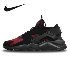 7808cb2f199 Nike Air Huarache Run Ultra Men s Women s Black Red Running Shoes Sneakers