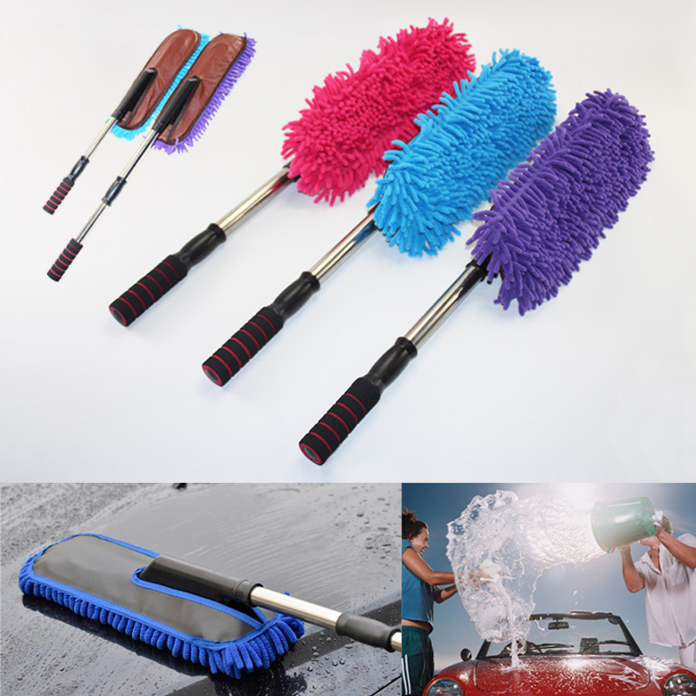 household cleaning tools scalable rag mop microfiber car dust brush cleaning dust duster dusting. Black Bedroom Furniture Sets. Home Design Ideas