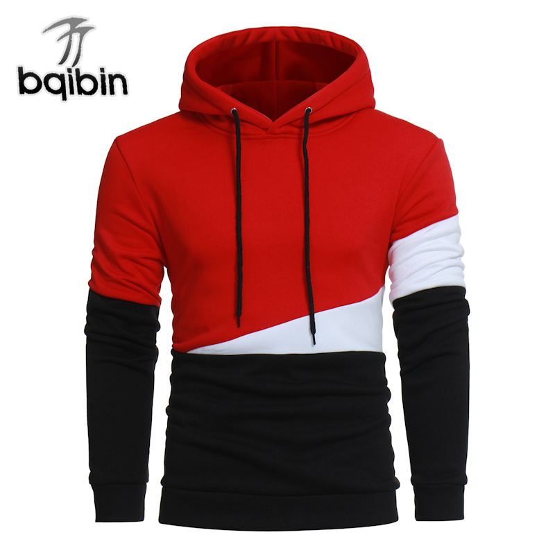 Sweatshirts Men 2018 Fake Two Pieces of Spring And Autumn Youth Trend Long Sleeve Loose Male 3XL Plus Size