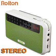 Rolton E500 Mini Caja Del Altavoz Bluetooth Soporte Llamada Telefónica Bluetooth/TF Card/MP3/Fm/Auriculares/Luz LED/altavoces/REC