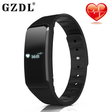 Gzdl монитор сердечного ритма Водонепроницаемый плавать Смарт Браслет часы фитнес трекер для Android IOS Телефон WT8033