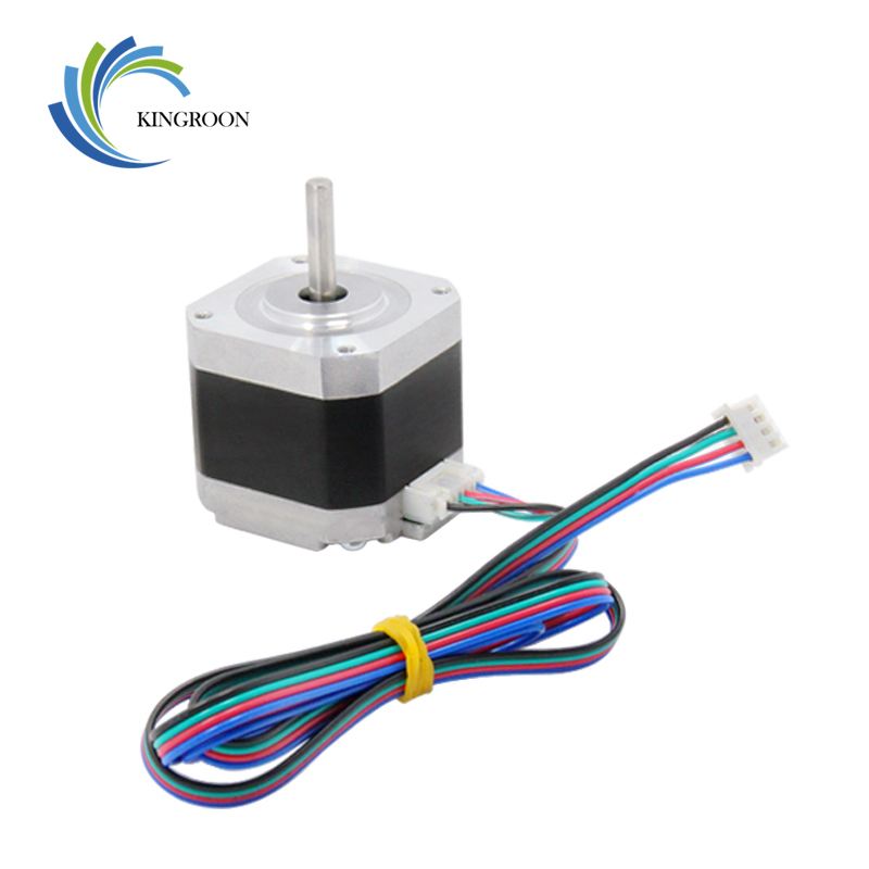 цена на KINGROON 1PC 3D Printer Kossel 42 Stepper Motor 42 Two-Phase Stepper Motor 1.5A High Torque 1.8 Degrees With 800mm Motor Line 0