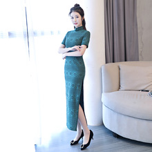 a1b07a2480f21 Chinese Collar Lace Dress Promotion-Shop for Promotional Chinese ...