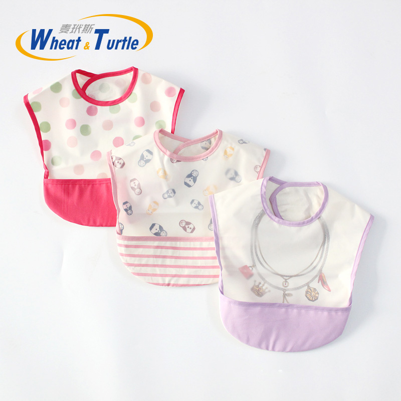 93356a2e23ed2 US $3.03 15% OFF|Mother Kids Baby Clothing Accessories Bibs Burp Cloths  Unisex Waterproof Infant TodderTowel Feeding Bibs Bandanas Burp Cloths-in  Bibs ...