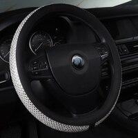 car steering wheel cover accessories non slip leather for BMW 5 Series E39 E60 E61 F07 F10 F11 F18 525 530d g30 e34