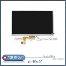 Original 10.1 pulgadas pantalla LCD AL0275B para tablet pc 1024 * 600