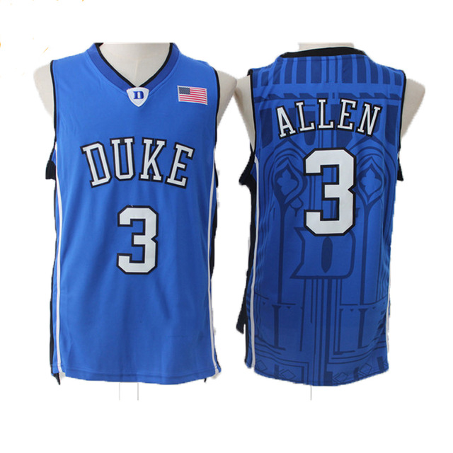 Cheap Grayson Allen Basketball Jerseys 3  Duke University Blue Devils  Throwback High Quality Retro Stitched Embroidery Shirts-in Basketball  Jerseys from ... 5ef437743