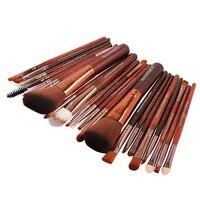 New Pro 22Pcs Cosmetic Makeup Brushes Set Bulsh Powder Foundation Eyeshadow Eyeliner Lip Make Up Brush