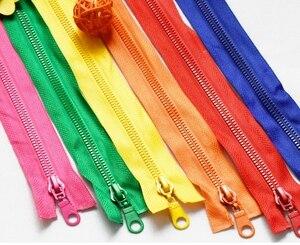 70/80 cm Resin Open End Zipper Jacket Clothe Cushion 5# Nylon Zipper for sewing/Garment accessories DIY Handmade Craft
