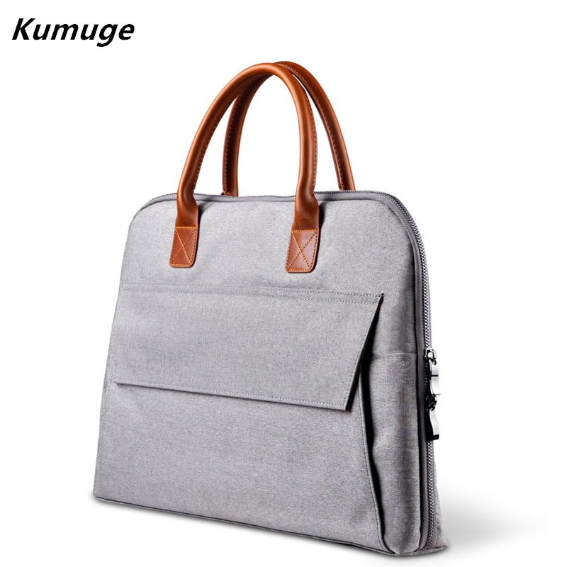 11.6 13.3 15.6 Portable KUMON Laptop Bag for Macbook Pro Air 11 13 15 Asus Dell Laptop Sleeve Cover Notebook Handbag for Women pokoko brand notebook laptop sleeve bag case for apple macbook air 13 pro 13 3 inch retina portable handbag laptop bag