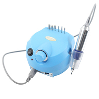 2016 Professional Electric Nail Drill Machine Manicure 35000 RPM Blue Color Pedicure Tools Electric Manicure Drill