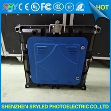 6500 Нит Высокой яркости водонепроницаемый P6 576 мм х 576 мм алюминиевого литья под давлением светодиодный аренду светодиодный дисплей