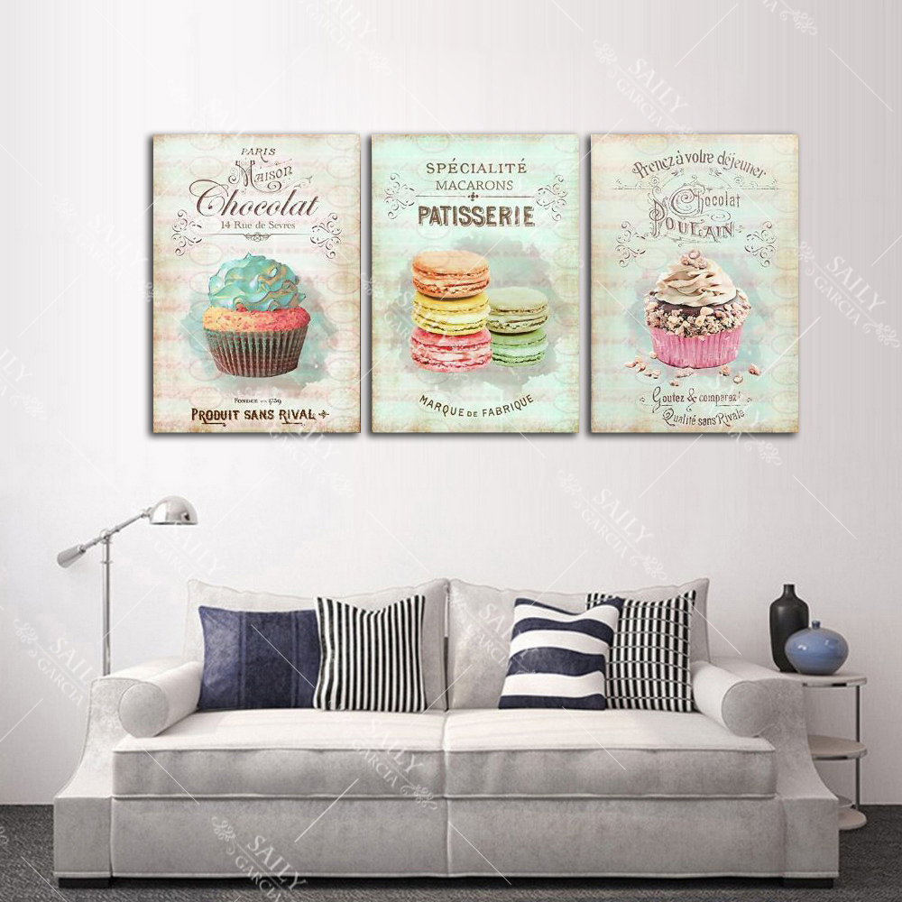HTB138SzeRKw3KVjSZTEq6AuRpXay Nordic Decoration Home Posters Kitchen Restaurant Dessert Bread Canvas Painting Wall Art Picture For Living Room Decor No Framed