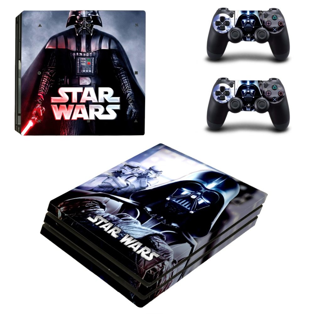 Star Wars: The Force Awakens PS4 Pro Skin Sticker Cover For Sony Playstation 4 Pro Console&Controllers