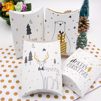 10PCS/Lot Merry Christmas Candy Gift Boxes Deer&Xmas Tree Guests Packaging Boxes Gift Bag Christmas Party Favors Kids Gift Decor merry christmas candy gift boxes deer xmas tree guests packaging boxes gift bag christmas party favors kids gift decor