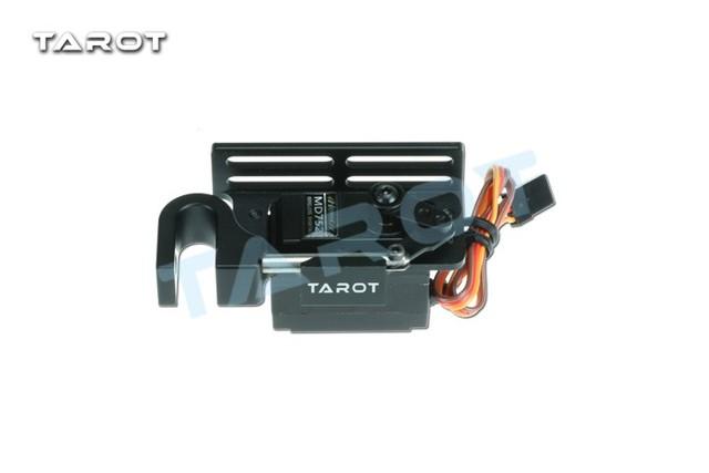 F18660/1 dispositivo parabólico dispensadores tarot metal ensartar parabólico con servo actuador servo high torque tl2961-01/tl2961-02