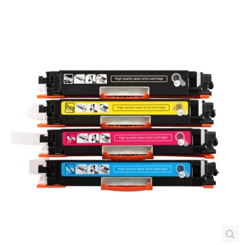 Cartouche de Toner couleur Compatible CF350A CF351A CF352A CF353A 130A pour imprimante hp Color LaserJet Pro MFP M176n, M176 M177fw M177