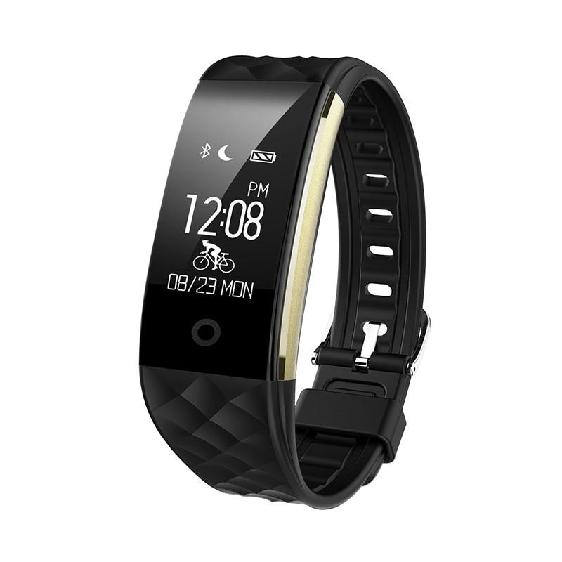 2018 S2 Smart Polsbandje Hartslagmeter IP67 Sport Fitness Armband - Տղամարդկանց ժամացույցներ - Լուսանկար 2
