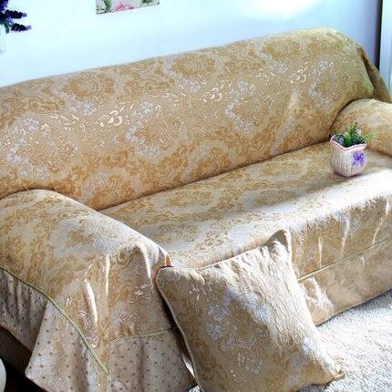 Moda sofá towl completo sofá toalha espessamento couro slip-resistente sofá toalha poeira all-inclusive
