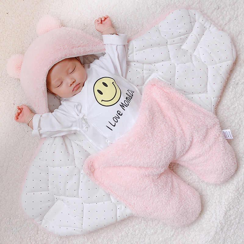 תינוק שמיכת החתלה כותנה רך יילוד תינוק החתלה גלישת sleepping תיק decke cobertor infantil bebek battaniye cobijas bebe
