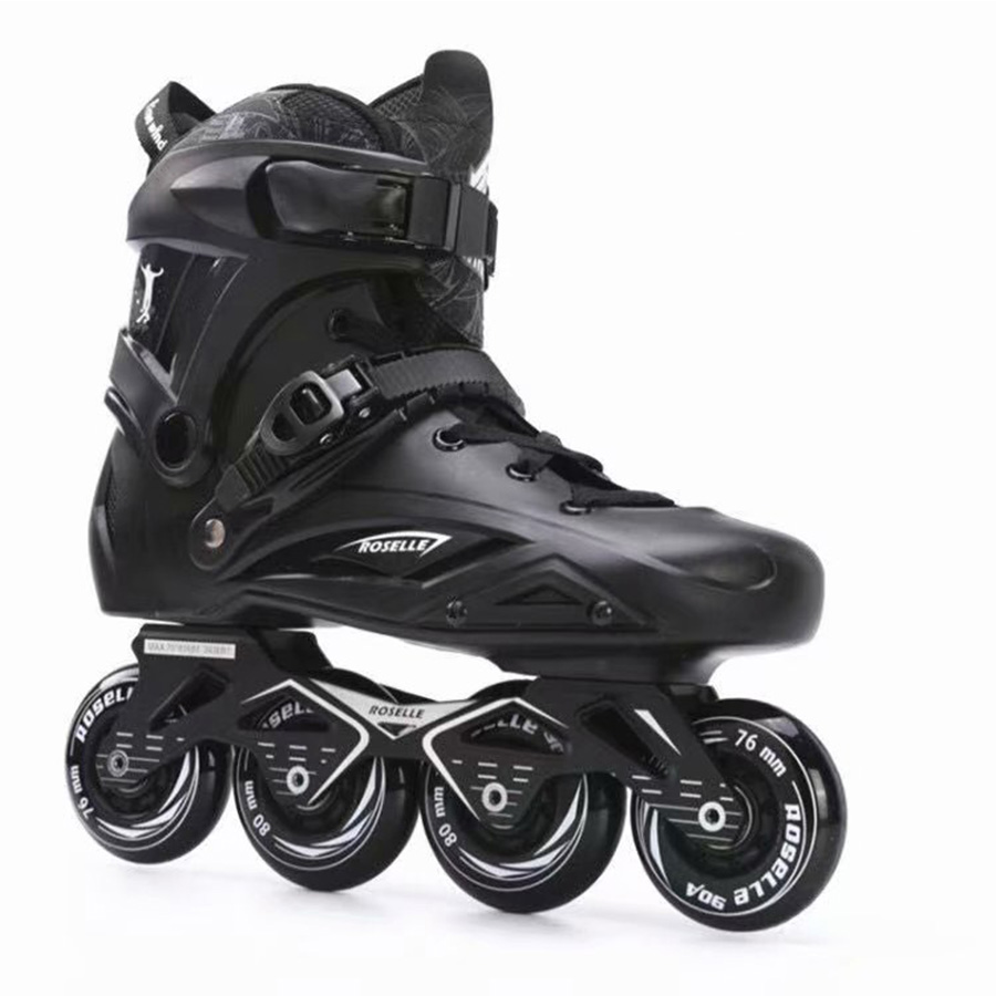 Rosell X3 Inline Skates Professional Slalom Adult Roller Skating Shoes Sliding Free Skating Good As SEBA Patines Adulto japy skate badao inline skates professional slalom adult roller skating shoes sliding free skating good as seba patines adulto
