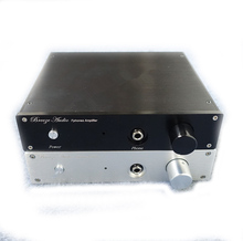 2204e Full aluminum chassis Preamplifier box Power amplifier case size 210*45*188MM