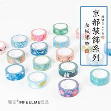 Infeel.Me Kyoto Decoration Japanese Nail Decorative Washi Tape DIY Scrapbooking Masking Tape School Office Supply(China)
