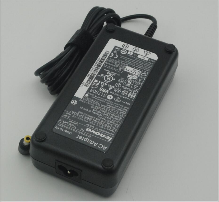 Free shipping 19 5 V 7 7 A 150 W power adapter for lenovo 6 3