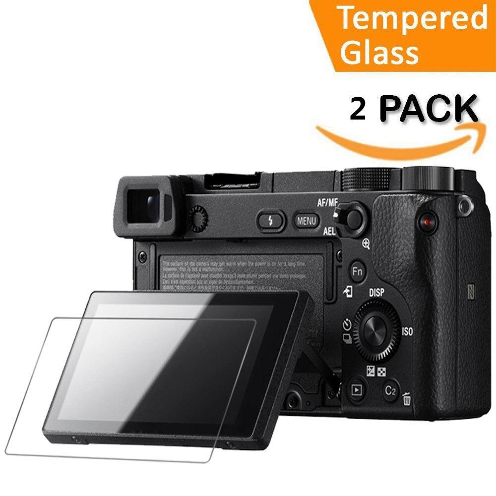 FOTGA vidrio protector Protector de Pantalla LCD para cámara A5000//A6000 Sony Alpha