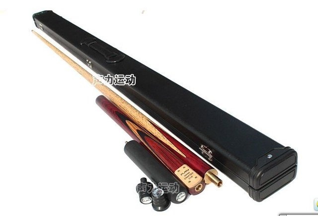 Free shipping!!U.S.A FURY Snooker 3/4 Billiards Cue SN-102 Cue+Chalk+Cue case/selected ASH wood