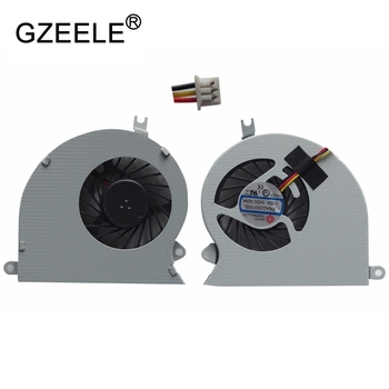 GZEELE new Laptop cpu cooling fan for MSI GE40 MS-1492 MS-1491 X460DX X460 20C-213CN 20C-209CN X460DX-216US X460DX-291US cooler ssea new cpu fan for msi gs70 gs72 ms 1771 ms 1773 gtx 765m laptop cpu cooling fan paad06015sl n285