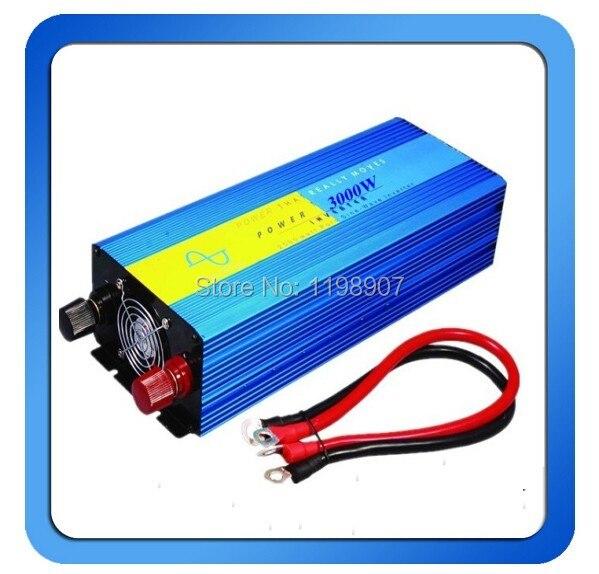 цена на 3000W inversor de onda senoidal pure sine wave inverter 24v 240v 60hz power supply peak 6000W DC12V 24V 48V 50Hz 60Hz