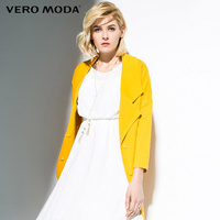 Vero Moda Brand 2018 NEW fashion single breasted loose solid color regular simple full sleeve OL style women jacke coat316117010