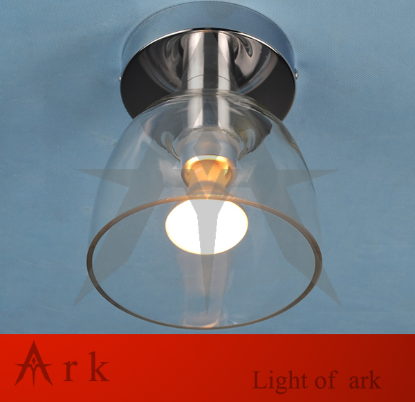 ark light free shipping Modern brief fashion glass lamps entranceway small cake ceiling light modern retro balcony entranceway aisle lights american brief iron single head christmas bells ceiling light free shipping