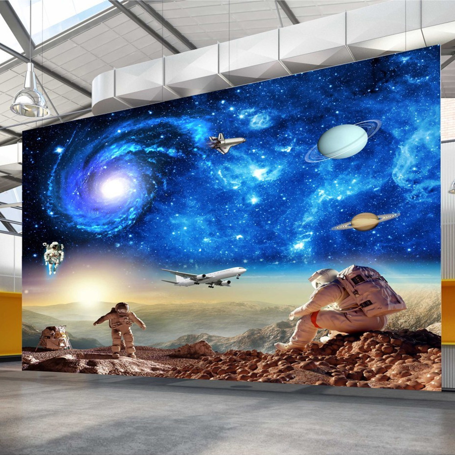 Uncharted 3 wall mural for Astronaut wall mural