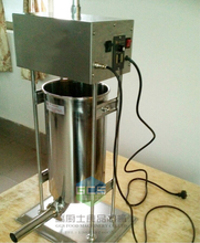 Free shipping~ Electric Automatic 15L spain churros maker / Sausage filler 2 in one one night in spain