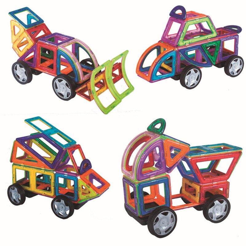 Nuevo klocki bloques de construcción de juguete magnético juegos de imanes de diseño educativos para niños pequeños juguetes para niños brinquedos regalo