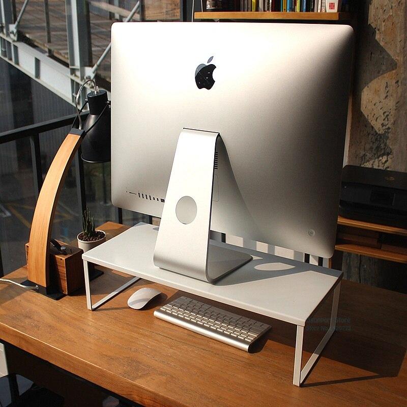 Angemessen Neue Desktop Monitor Notebook Laptop Stand Raum Bar Nicht-slip Schreibtisch Riser Laden 15 Kg K5