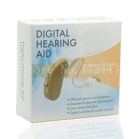 VHP 704 Digital Hearing Aids Aid Behind The Ear Adjustable Sound Amplifier Free Shipping Hearing Aid