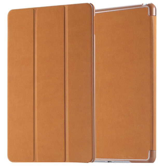 For iPad Air 2  Luxury Retro Deer Skin Leather Flip Case For iPad Air 2 6th gen