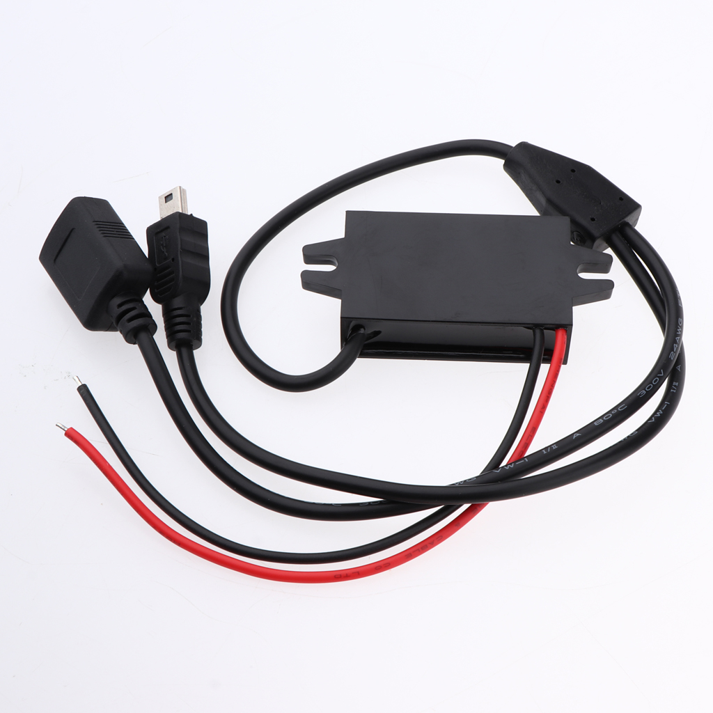 8-60V to 5V3A DC-DC Step-Down Buck Converter Mini USB Car Voltage Regulator