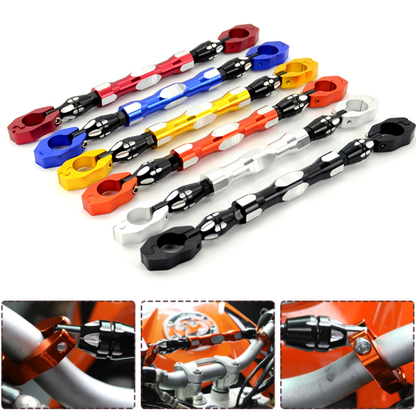 Strong 7/8 22mm CNC Motorcycle Extendable Handlbar Rebar Balance Bar for KTM Duke 200 390 690 990 2013 2014 2015 2016 2017 motorcycle cnc balance bar for ktm 125 duke 200 duke 390 handle rebar handlebar modification parts accessories balance bar