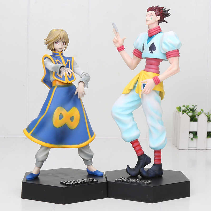 20cm Hunter X Hunter Kurapika Hisoka PVC Action Figure Toys Hunter X Hunter Figure
