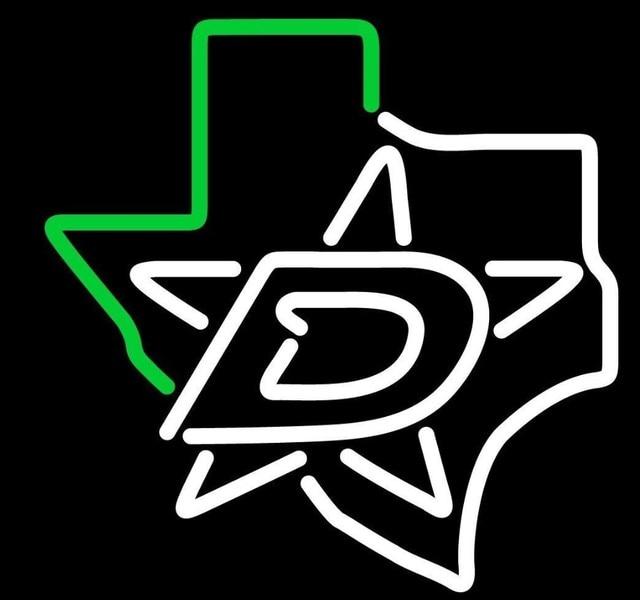 Custom Dallas Stars Texas Neon Light Sign Beer Bar