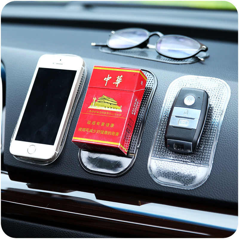 Premium Car Anti Slip Mat Magic Sticky Pad Mobile Phone Holder for GPS MP3 MP4 Oppo Mobile Phone Holder Car Silicone Sticky Pad