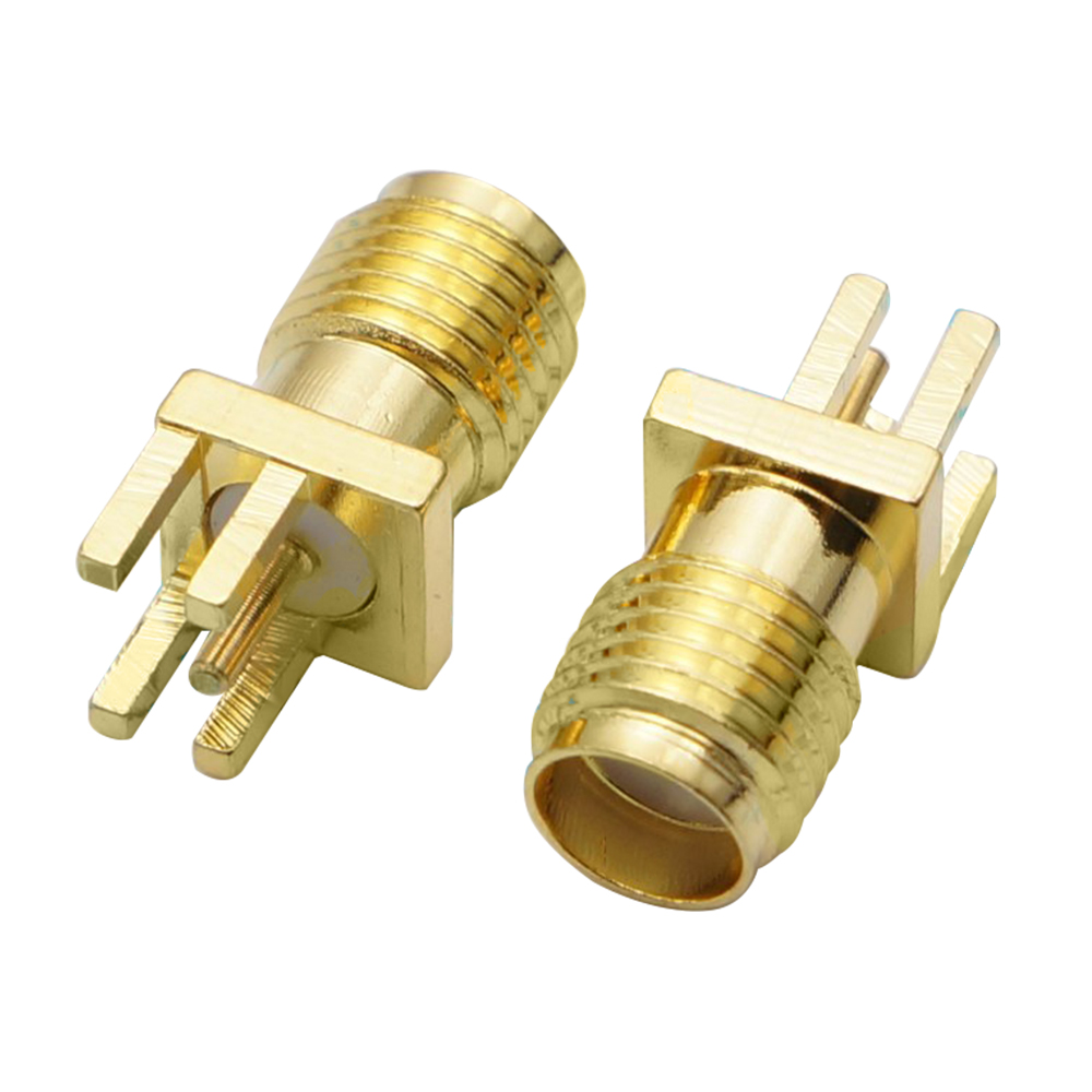 10pcs/lot SMA-KE 1.6MM SMA Female Connector PCB Mount Plug Straight Receptacle Solder Adapter