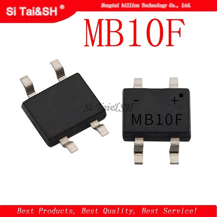 20pcs MB10F MB10 SOP4 1A 1000V SMD