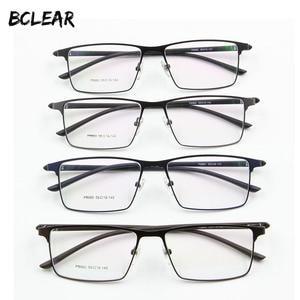Image 1 - Monture de lunettes pour hommes P9960, en alliage de titane, cadre de lunettes lunettes pour hommes IP, matériau en alliage, monture complète, charnière à ressort
